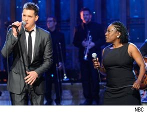 Michael Buble and Sharon Jones