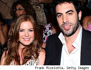 Sacha Baron Cohen and Isla Fisher Get Married