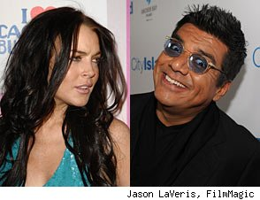 Lindsay Lohan rips George Lopez
