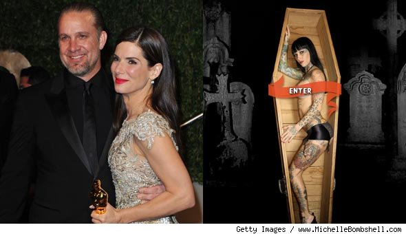 Jesse James, Sandra Bullock and Michelle Bombshell McGee