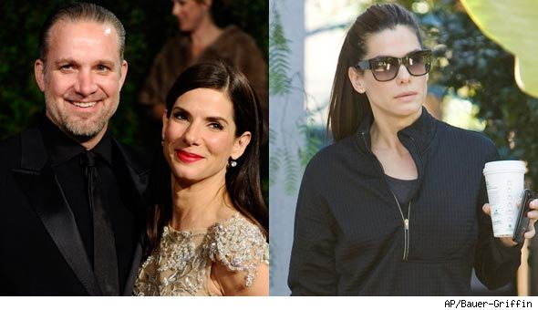 Sandra Bullock Jesse James Split