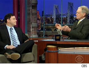 David Letterman and Jimmy Kimmel
