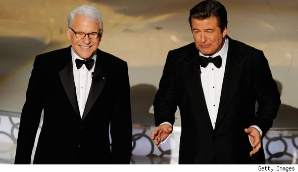 Steve Martin and Alec Baldwin