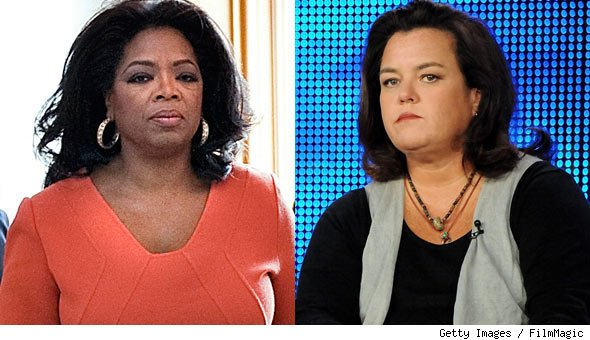 Rosie O'Donnell's new show may try to fill the gap Oprah leaves behind