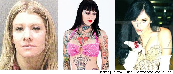 Jesse James' Alleged Mistresses: Melissa Smith, Michelle 'Bombshell' McGee, Brigitte Deguarre