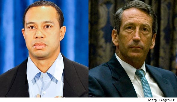 Tiger Woods Mark Sanford