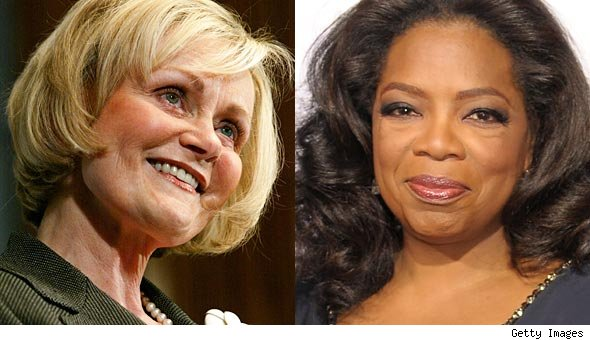 Kitty Kelley writes Oprah Winfrey biography