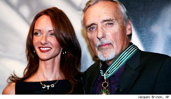 Dennis Hopper and Victoria