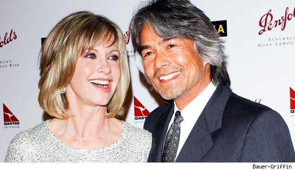 Olivia Newton-John and Patrick McDermott