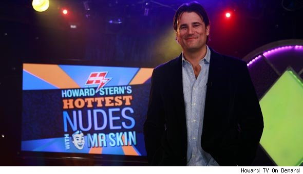 Mr. Skin on Howard Stern