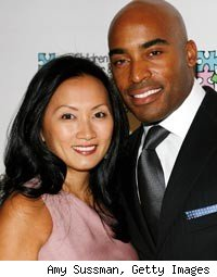 Tiki Barber and wife Ginny Cha split up