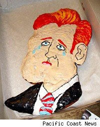Conan O'Brien comedy tour cake