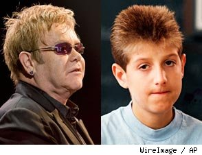 Elton John and Ryan White