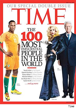 Time 100 Magazine Cover