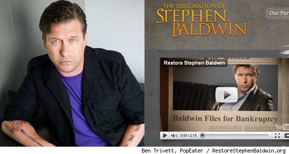 Stephen Baldwin Explains RestoreStephenBaldwin.org