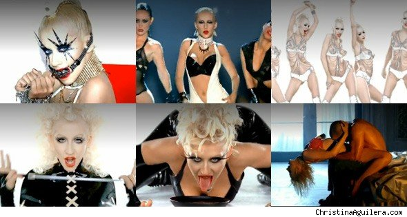 Christina Aguilera 'Not Myself Tonight' Video Photos