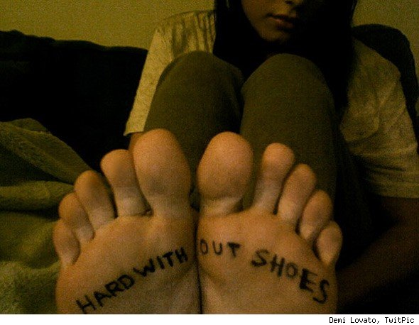 Demi Lovato, One Day Without Shoes
