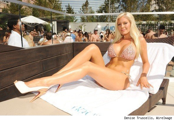 Heidi Montag Bikini Photo