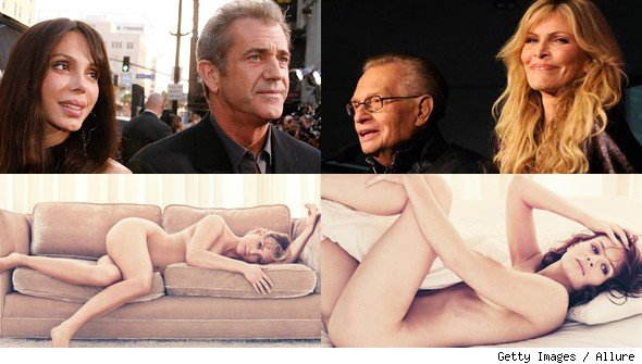 Celebrity Splits and Nudity