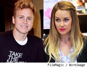 Spencer Pratt and Lauren Conrad