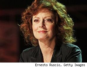 Susan Sarandon talks ping-pong, life after marriage
