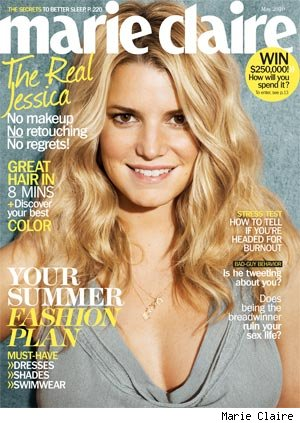 Jessica Simpson Marie Claire