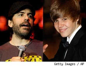 Greg Giraldo and Justin Bieber