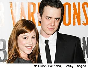 Colin Hanks wedding