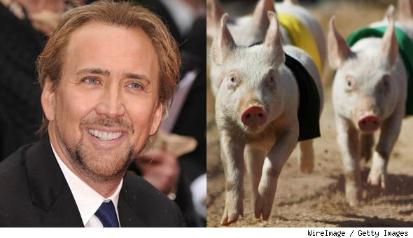 Nicolas Cage Eats According to