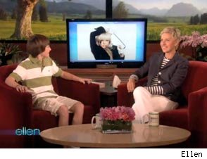 Lady Gaga Calls Greyson Michael Chance on 'Ellen'