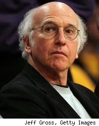 Larry David Talks 'Curb' in NYC, 'American Idol'