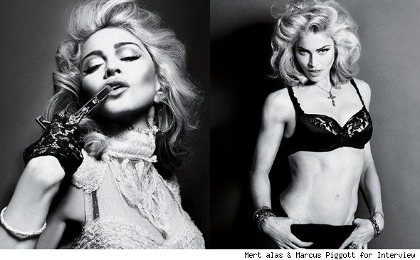 Madonna in Interview Magazine