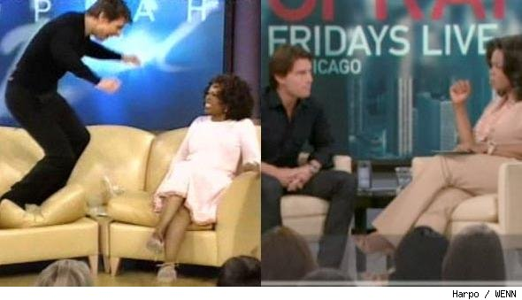 Tom Cruise Returns To Oprah's Couch, Doesn't Hop