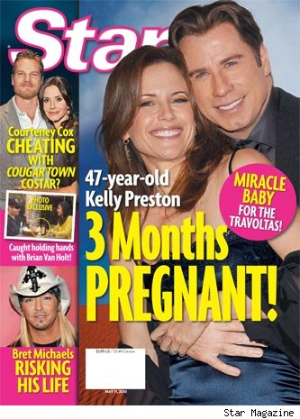 John Travolta Kelly Preston Expecting