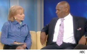 Mike Tyson and Barbara Walters