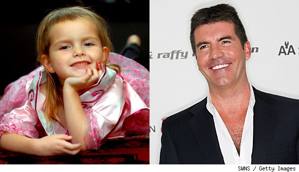 Simon Cowell fulfilled five-year-old Bethany Fenton's final wish