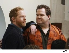 Jesse Tyler Ferguson and Eric Stonestreet on 'Modern Family'