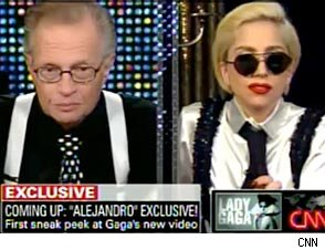 Video: Lady Gaga Chats With Larry King