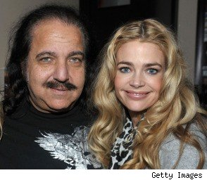 Denise Richards and Ron Jeremy