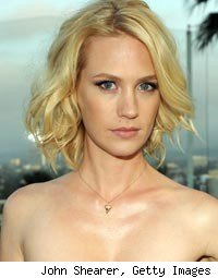 January Jones Car Accident