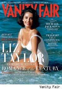 Elizabeth Taylor Vanity Fair Cover