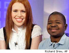 Shannon Price and Gary Coleman