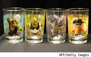 Shrek Glass Recall from McDonald's
