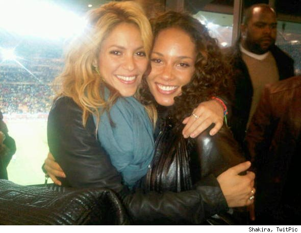 Shakira Alicia Keys World Cup