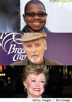 Gary Coleman, Dennis Hopper, Rue McClanahan