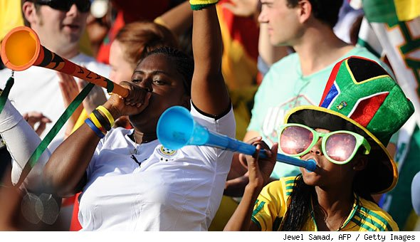 Vuvuzela Buzz Dominates World Cup