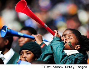 The Vuvuzela and Pop Culture: Love at First Buzz