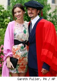Orlando Bloom & Miranda Kerr