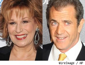 Joy Behar &amp; Mel Gibson