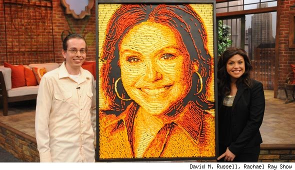 Jason Baalman Cheetos, Rachael Ray